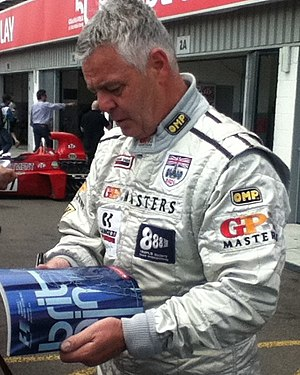 Derek Warwick - Warwick at the 2014 British Grand Prix
