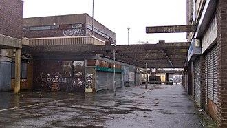 Linwood, Renfrewshire - derelict shopping centre