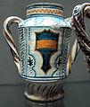 Deruta, vasetto con arme dei baglioni di perugia, 1470-1480 ca..JPG