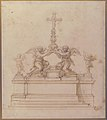 Design for an Altar with Kneeling Angels Supporting a Crucifix MET 65.66.4.jpg