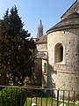 Detall de l'església de Sant Pere de Galligants alfons l'església de Sant Feliu (Girona) - panoramio.jpg