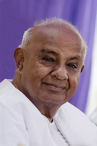1996 Indian general election - Image: Deve Gowda BNC