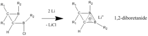 Homoaromaticity - Image: Diboretanide synthesis