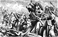 Die Frauen der Teutonen verteidigen die Wagenburg by Heinrich Leutemann.jpg