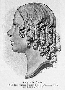Eugenie Marlittová v roce 1849