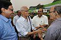 Dilip Kumar Pathak and Samar Bagchi Shake Hands - MSE Golden Jubilee Celebration - Science City - Kolkata 2015-11-17 4856.JPG