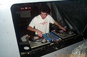Disco D - Disco D performing live, 2002