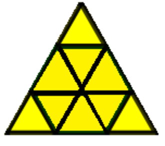 Euclidean tilings by convex regular polygons - Image: Dissected triangle 3b