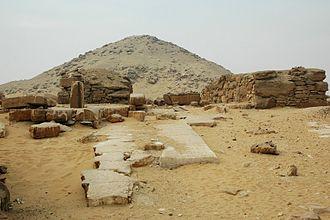 Djedkare Isesi - The pyramid of Djedkare in Saqqara