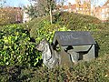 Dog in Dog Kennel - geograph.org.uk - 2175713.jpg