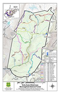 Dolly Sods Map Dolly Sods Wilderness   Wikipedia