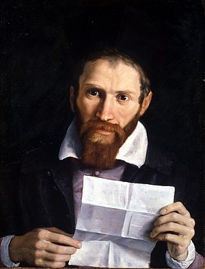York Art Gallery - Portrait of Giovanni Battista Agucchi by his friend Domenichino, 1615–1620