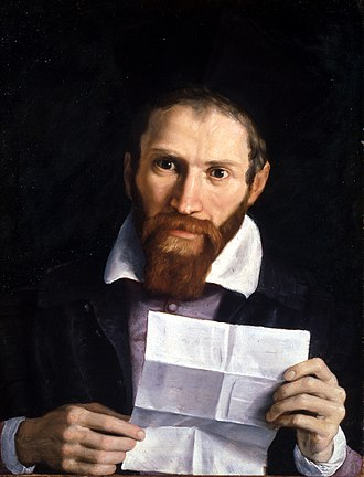 Giovanni Battista Agucchi - Portrait of Agucchi by his friend Annibale Carracci, 1615–1620,   York Art Gallery