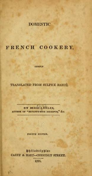 File:Domestic French Cookery.djvu