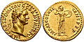 Domitian aureus Minerva 828481.jpg