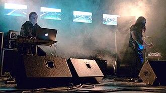KTL (band) - Image: Doom metal band KTL performing live at 2009