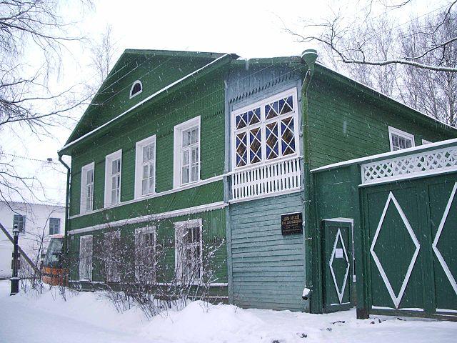Дом-музей писателя в Старой Руссе.