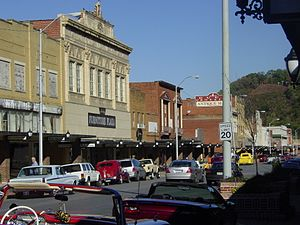 National Register of Historic Places listings in Carter County, Tennessee - Image: Downtown Elizabethton 02