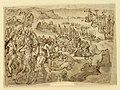 Drawing, Page of a drawing book; Battle Between Indians and Europeans, ca. 1590 (CH 18117751).jpg