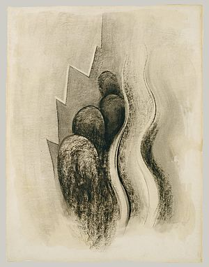 Georgia O'Keeffe - Georgia O'Keeffe, Drawing XIII, 1915, Charcoal on paper, Metropolitan Museum of Art