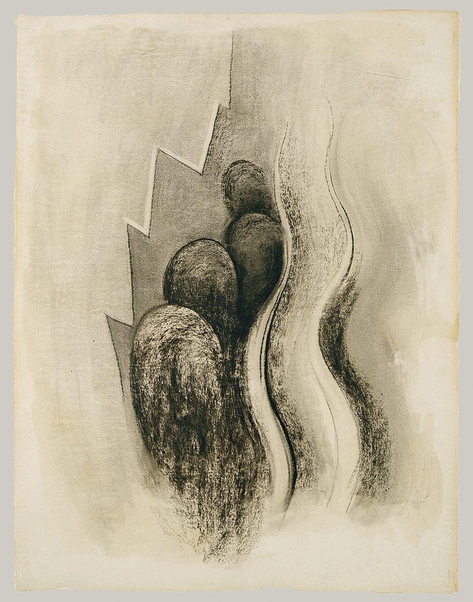 Drawing XIII by Georgia O'Keeffe 1915