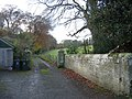 Drive leading to Newbrough Lodge - geograph.org.uk - 1583688.jpg