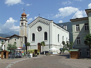 Dro, Trentino - Image: Dro church