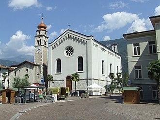 Dro, Trentino - Dro in Trentino - church