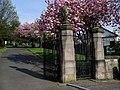 Drumry Cemetery Gates - geograph.org.uk - 796987.jpg