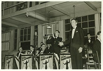 Duke Ambassadors - The Duke Ambassadors performing in 1937; Courtesy of the Duke University Archives.