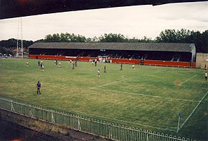 Champion Hill - Dulwich Hamlet v Fulham at Champion Hill in 1988