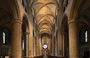 Durham Cathedral - Nave in 2010