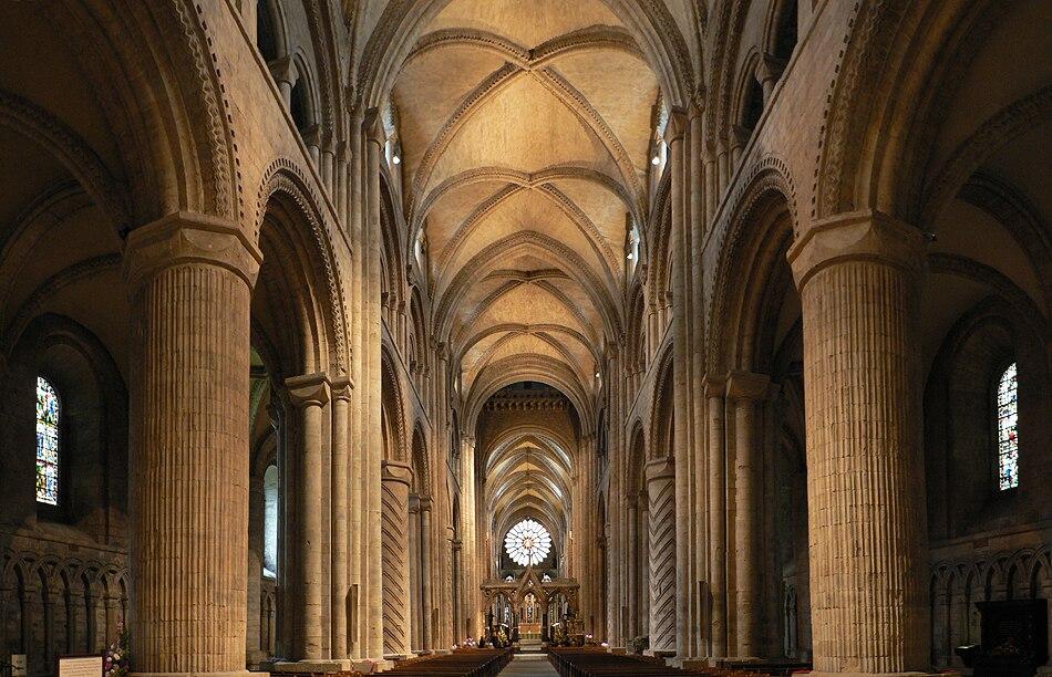 Durham Cathedral. Interior