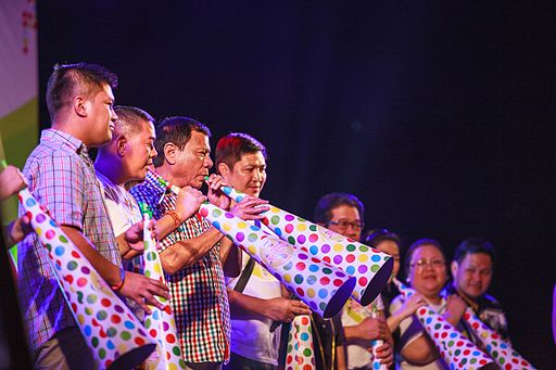 Duterte at the Torotot Festival 2015