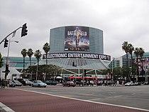 E3 2011 - outside the LA Convention Center South Hall (5830552623).jpg