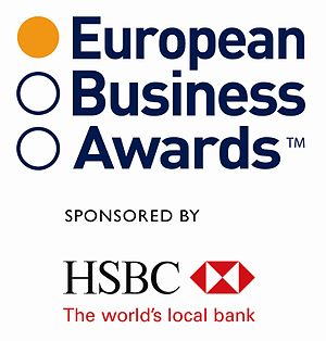 English: European Business Awards logo