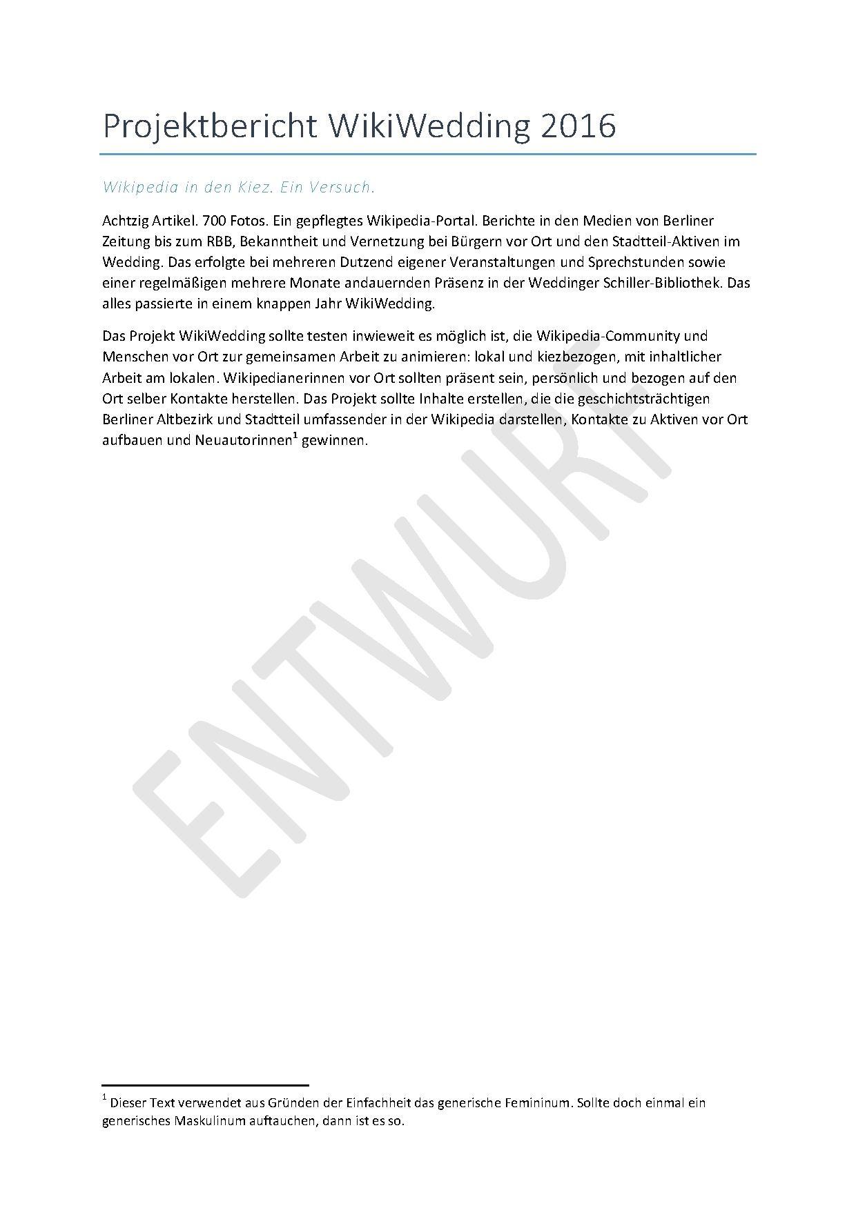 File:ENTWURF Projektbericht WikiWedding 2016 ENTWURF.pdf - Wikimedia ...