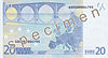 EUR 20 reverse (2002 issue)