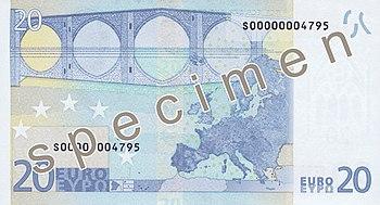 Billet De 20 Euros Wikipedia