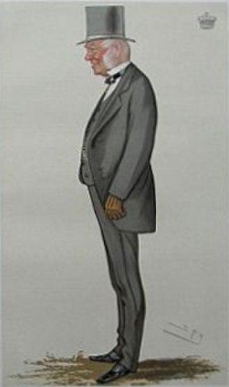 "Thomas Parker, 6th Earl of Macclesfield - ""A coachman"". The 6th Earl of Macclesfield caricatured by Spy (Leslie Ward) in Vanity Fair, October 1881"