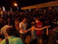 Early Comers Party - Tiltan Roof P1040064.JPG