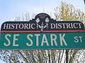 East Portland-Grand Ave Historic District SE Stark St.JPG