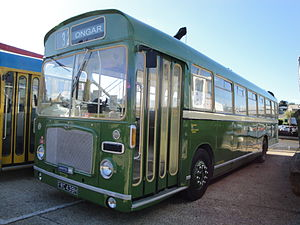 Eastern National Omnibus Company - Preserved Eastern Coach Works bodied Bristol RE in October 2010