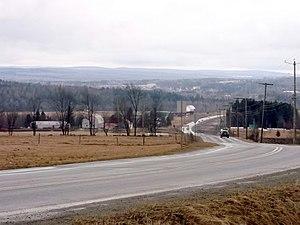 Cookshire-Eaton, Quebec - Image: Eaton Sawyerville raod panoramio