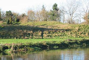 St Neots - Remains of the Norman castle at Eaton Socon