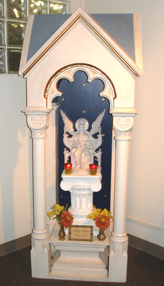 Ecclesia Gnostica - Statue of the Most Holy Sophia (with enclosure) in the Ecclesia Gnostica (Gnostic Church) Chapel in Los Angeles.