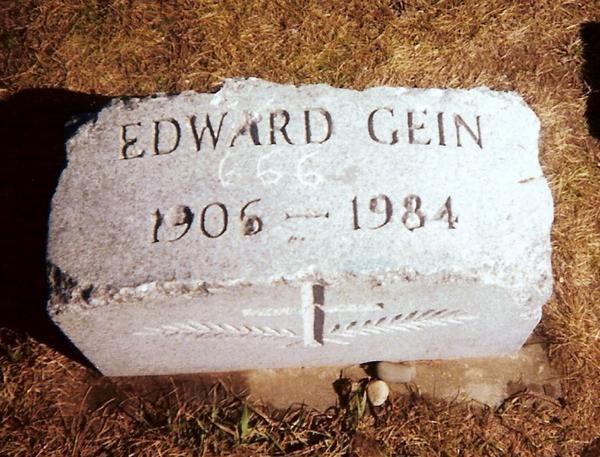 Ed Gein Headstone