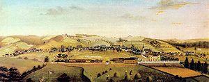 Bergisch-Markisch Railway Company - Line at Schwelm in 1861
