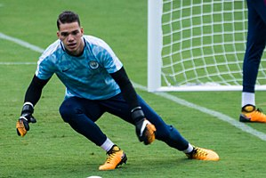 Ederson Moraes - Ederson with Manchester City in 2017