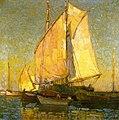 Edgar Payne Drying Sails, Chioggia, Italy.jpg